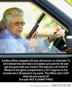 This. Is. Grandma. I mean, not the picture, but the description. She would totally do this.
